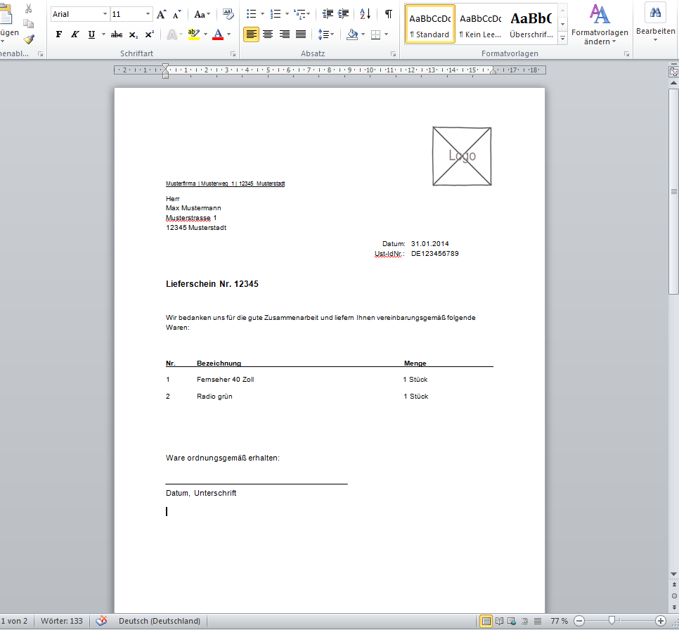 Atemberaubend Vorschlag Vorlagen Microsoft Word Zeitgenössisch ...