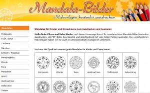 Gratis Malvorlagen Mandalas