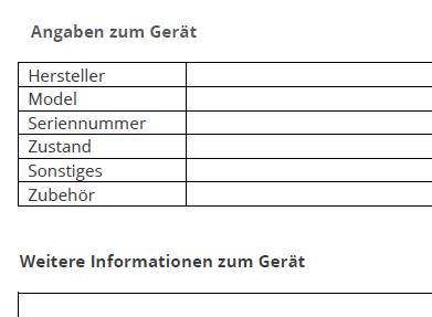 Muster Kaufvertrag Vorlage Für Ein Gebrauchtes Handy Zum Download