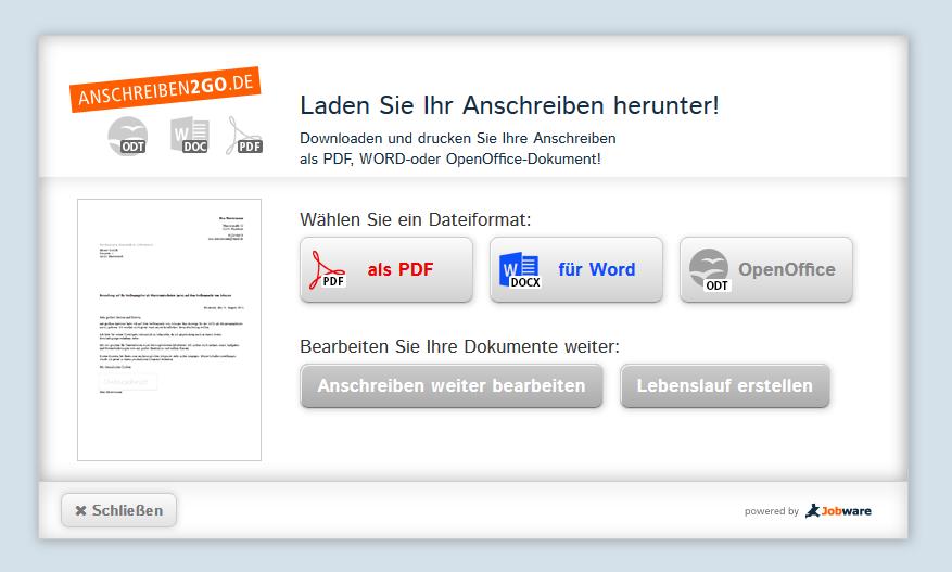 """Vorlage """"Bewerbung Für Ein Praktikum"""" Download Kostenlos"""