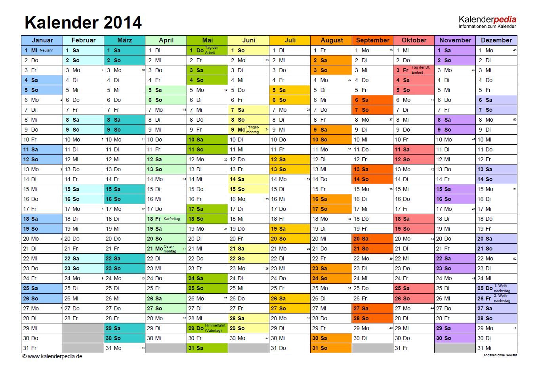 Kalender   VORLAGEN-KOSTENLOS