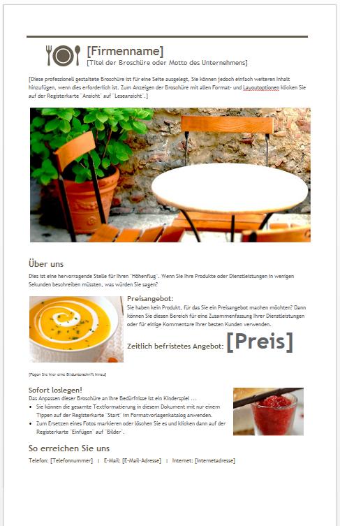 brosch ren vorlagen kostenloser download. Black Bedroom Furniture Sets. Home Design Ideas